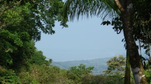 Ocean and Mountain View Lot in Lagunas Near Dominical Beach