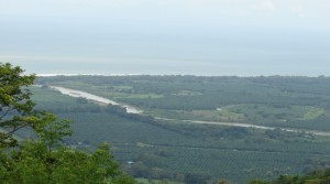 Eight Acre Land Parcel With River and White Water Ocean Views
