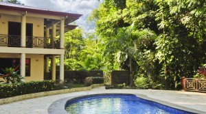 Large Four Bedroom Furnished Home with Guest House in Playa Ballena