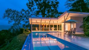 High End Hillside Vacation Home In Lagunas Above Dominical
