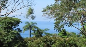 Ocean View Building Lot at Marina Vista Community Above Dominical