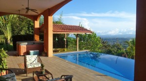 High Quality Home With Fruit Gardens And Views Of Downtown San Isidro
