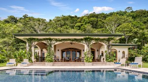 Spanish Style Ocean View Home In A Rainforest Setting Near Dominical