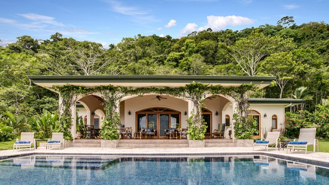 Spanish Style Ocean View Home