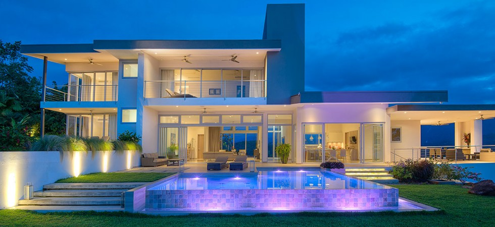 Magnificent Home Above Dominical With Panoramic Ocean View