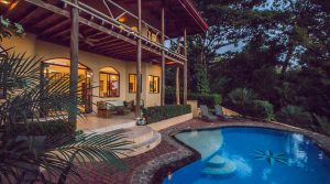 Tropical Home In Uvita With Ocean View And A Trail Leading To A River