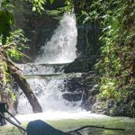 Waterfall Oasis with Ocean View in Playa Ballena
