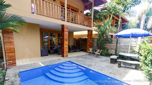 Tropical Pool Area
