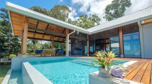 Luxury Home With Spectacular Ocean View of The Whale's Tail in Uvita