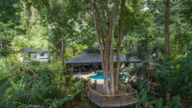 Home in Uvita with 1-Acre Rainforest Setting