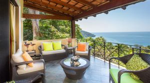 Ocean View Vacation Rental Home in a Manuel Antonio Beachfront Resort