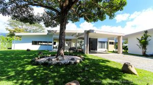 Brand-New Modern Home in Downtown Uvita with Office Building