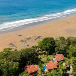 Three Oceanfront Homes Dominical Beach