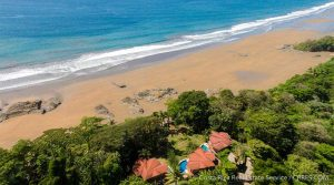 Three Oceanfront Vacation Rental Homes Steps to the Beach in Dominical