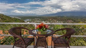 Home Outside of Quepos with Magnificent Views Over the City