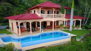 Rainforest Villa and Optional Guest House with Whitewater Ocean Views