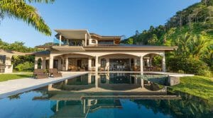 Whale's Tail View Luxury Estate with Guesthouse in Costa Verde Estates
