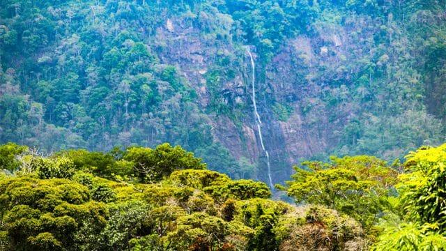 Diamante Waterfall View