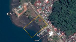 Waterfront Commercial Property with Dock Rights in Downtown Golfito