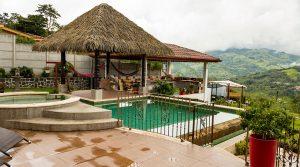 Casa Amor Residence with City Light Views above San Isidro