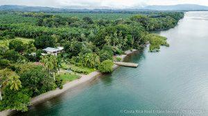 Waterfront Home with Boat Dock on Golfo Dulce Near Puerto Jimenez