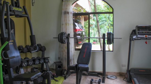 Mini Gym Area