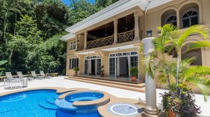 Manuel Antonio Duplex Home with Pool in a Small Residential Community