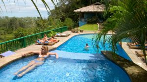 Eco-Lodge and Restaurant in Ojochal Walking Distance to Tortuga Beach