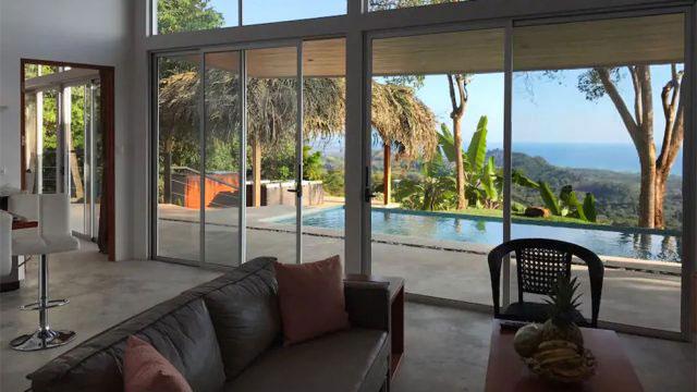 Ocean View Home in Matapalo