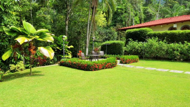 Lush Landscaped Gardens