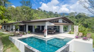 New Luxury Home in Uvita with Amazing Whale's Tail Ocean Views