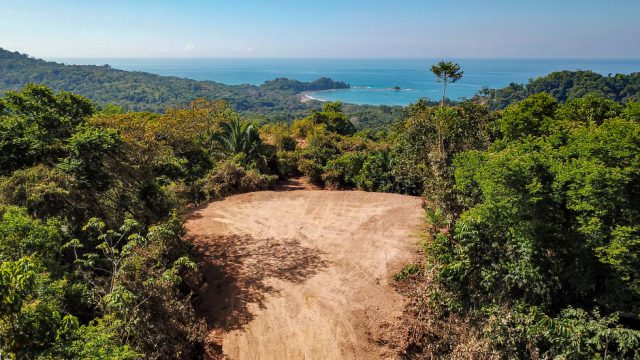 Ocean View Building Site in Dominicalito