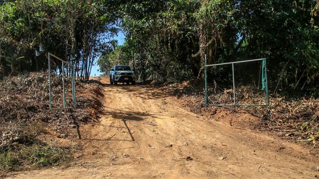 Gated Entry Off Main Road