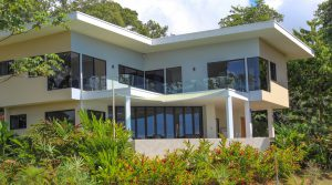 Modern Home In Uvita With Stunning Whales Tail Ocean View