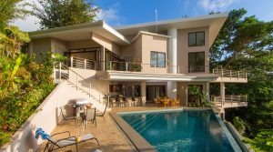 Spacious Ocean View Home Located in Escaleras of Dominical