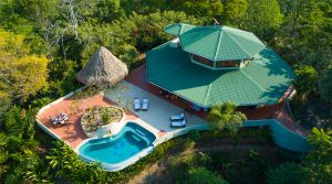 Ocean View Home Perched Above a Rainforest Nature Reserve in Hatillo