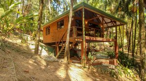 Jungle Cabin Above Playa Hermosa Between Dominical and Uvita
