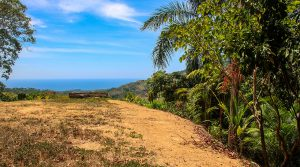 Ocean View Home Site with River Trail and Work Shed in Lagunas