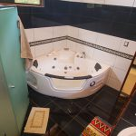 Whirlpool Tub in Master Bedroom
