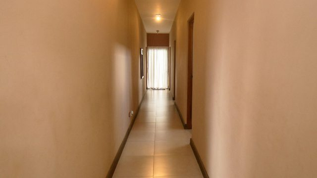 Private Hallway for Bedrooms