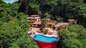 Seaside Ocean View Mansion in Exclusive Dominical Community