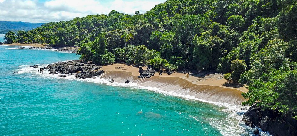 Spectacular Beachfront Luxury Home with Rainforest Setting on Drake Bay