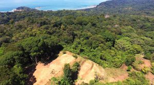 9 Acre Escaleras Land Parcel with Ocean Views Above Dominical