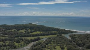 Panoramic Ocean View Lot For Sale in Private Community Above Uvita