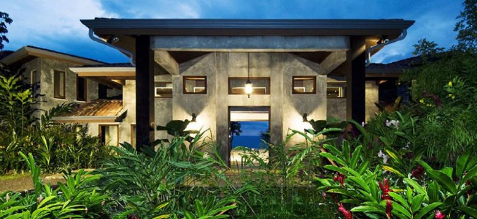 Ocean front mansion