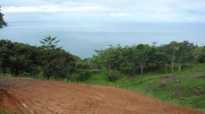 One Acre Ocean View Lot on Hilltop in Dominical