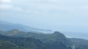 Over Nine Acre Land Parcel With Ocean Views on Tropical Hillside