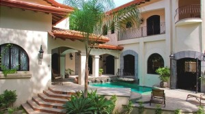 Mansion in Private Jungle Setting Steps to the Beach in Jaco