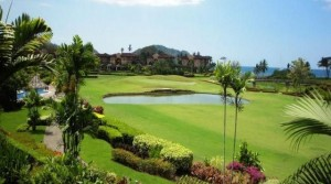 Three Bedroom Los Suenos Condo with La Iguana Golf Course Views