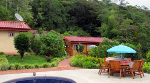 Bird Sanctuary, Nature Reserve and Mountain Lodge Above San Isidro